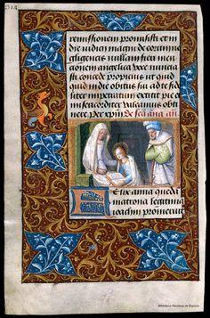 Libro de horas de Carlos V. Manuscrito — 1501-1600? Call number Vitr/24/3 PID bdh0000051953 p. 318