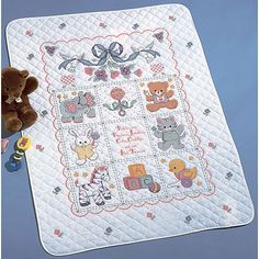 Embroidery Needlepoint Starter Kits Rainbow Bubble Girl Cross Stitch Stamped Kit Quilt Pre-Printed Cross-Stitching Patterns for Beginner Kids /& Adults