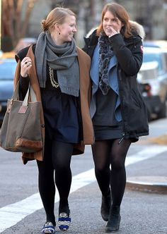 (R) British royal Princess Eugenie was spotted walking with friends in the East Village neighborhood NY, 22.03.14