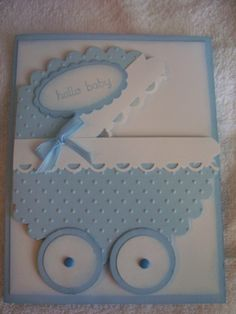 baby card jackie mulder - really cute. I have seen this card, but this is the cutest!