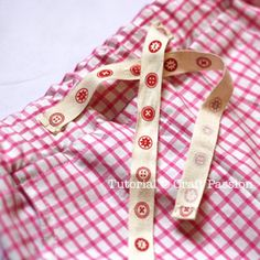 ribbon on waistband