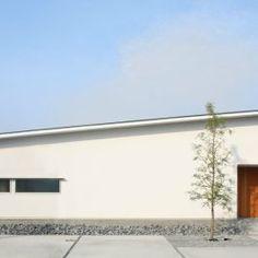 大きな屋根の家 - 施工事例 設計事務所とはじめる家づくり・注文住宅・自由設計の[neie(ネイエ)]   名古屋 一宮 富山 高山