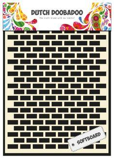 478.007.006 Dutch DoobadooSoftboard Art  Bricks