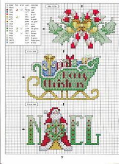 Estos patrones son para decorar tanto manteles, servilletas, toallas y lo que te apetezca para estas navidades. Pincha en cada imagen para agrandar, lo guardas y lo imprimes. Cortesía: Rocío.