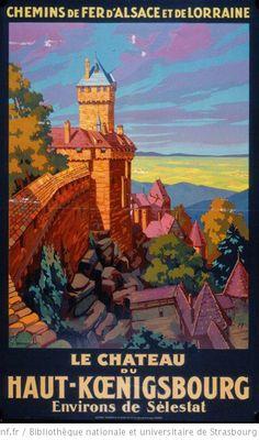 Le chateau du Haut-Kœnigsbourg, Environs de Selestat - 1