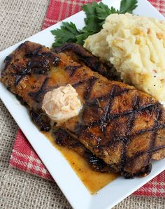 Weekly Vegan Menu: Weekly Vegan Menu - Chili's Steak Make Over - Cajun Ribeye