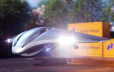 personal vehicle concept - The future of transportation is being addressed with this Tesla personal vehicle concept that imagines what might be possible if the company were t. Spaceship Interior, Spaceship Art, Aliens, Flying Vehicles, Future Transportation, Sci Fi Ships, Tesla S, Flying Boat, Futuristic City