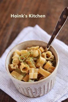 にんにくバター醤油マカロニ
