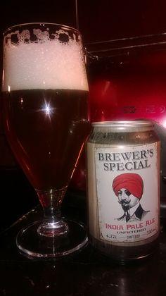 Saimaan Juomatehdas Brewer's Special IPA 4,7% tölkki (Pienpanimo maistiaisissa Olut Expo 25.10.2014 Teron kaa)