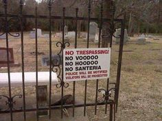 """Hoodoo Magick Rootwork: """"No Trespassing! American Gothic, American Horror Story, American Gods, Voodoo, Scooby Doo, Maleficarum, The Rocky Horror Picture Show, Doja Cat, Southern Gothic"""