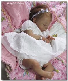 TINKERBELL NURSERY Newborn baby girl reborn by Helen Jalland