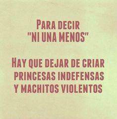 Ni princesas ni violentos