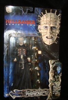 Clive Barker has created a hellish (no pun intended) world and a  new genre of horror films and  books.....here at your disposal ...from the Hellraiser series...Pinhead...leader of the Cenobites...a netherworld of creatures who are the stuff nightmares are borne of.....