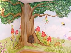 Atlanta murals - Childrens murals - Wall Art for Kids Rooms - Baby Room Decor - Atlanta Muralist