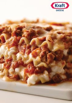Better-Than-Ever Cheesy Meat Lasagna —When you combine cheesy layers of noodles, ground beef and spaghetti sauce, you know it's gotta be good. Take a break from the  Thanksgiving turkey leftovers and give this recipe a try instead! It's easy to make-ahead, even during the busy holiday season.