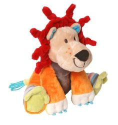 Happy Horse Plush Toy, Lion Lars by Happy Horse. $24.99. Geared for Imagination is proud to introduce the fancy baby collection from Happy Horse. A collection of plush animals and baby toys designed in Holland with both a sweet sensibility and modern style. This super soft plush elephant features vibrant colors and modern design that invite little ones to cuddle up. Machine washable and safe for all ages.