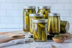 Grandma's Dill Pickles Our family's favorite dill pickles! Packed with garlic and fresh dill, these crisp dill pickles will add a boost of flavor to any meal. This Czech recipe has been passed down through our family for generations. French Coconut Pie, Chicken Bones, Czech Recipes, Tasty Kitchen, Recipe Community, Just In Case, Skillet, The Best, Spicy
