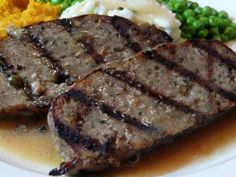 Or my version of Magnolia's Meatloaf. Magnolia's was (maybe still is) a restaurant in Charleston, SC. We were on vacation (about 15 year. Grilled Meatloaf, Meatloaf Recipes, Beef Recipes, Recipies, Veggie Loaf, Meat Loaf, Veal Meat, Air Fried Food, My Cookbook