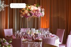 pink white and gold wedding theme/