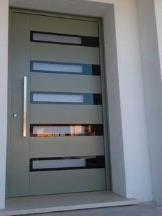 House Main Door Design, Flush Door Design, Door Gate Design, Front Door Design, Small House Design, Modern Entrance Door, Modern Wooden Doors, Home Entrance Decor, Almirah Designs