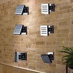 adjustable shower sprayers