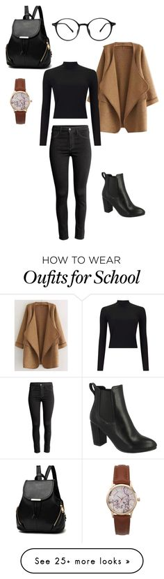"""""""School Outfit"""" by mariabecker on Polyvore featuring H&M and Miss Selfridge"""