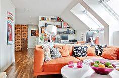 Un Apartamento Multicolor | Ideas para decorar, diseñar y mejorar tu casa.