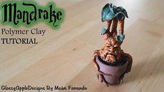 Easy Miniature Polymer Clay Witch's Cauldron Tutorial | Maive Ferrando - YouTube