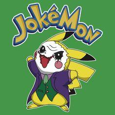 Pokemon / Batman || Jokemon by yayzus