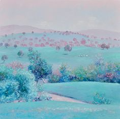 """SPRING IS IN THE AIR"" by Jan Matson. Paintings for Sale. Bluethumb - Online Art Gallery"
