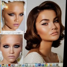 Editing my new #beauty #bridal #makeup looks. Shabbat Shalom★ @dvirka2 @oferraphaeli @roberto @yairk900 @yakirbenzaken @lenaterekhova @annalitovka #makeupbynatashadenona