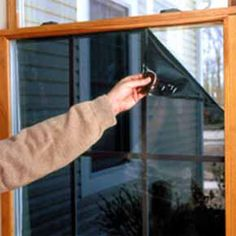 Winter Insulation Window Film Help Reduce Loss Of Energy.