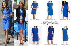 RepliKates of Stella McCartney blue 'Ridley' dress