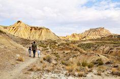 parc naturel désert bardenas reales en Espagne