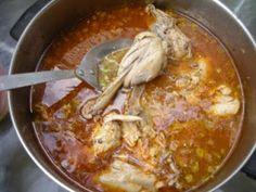 Light Okra Soup w/Chicken (Ewe Style, fetri detsi)