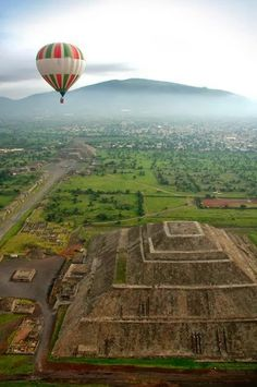 Teotihuacan, Hot Air ballooning Beautiful Collection of Photographs. | Lost in my little world