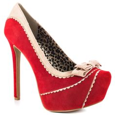 Jessica Simpson's Red Jeorge - Runway Red Combo for 99.99 direct from heels.com