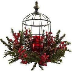Resultado de imagen para jaulas decoradas navideñas