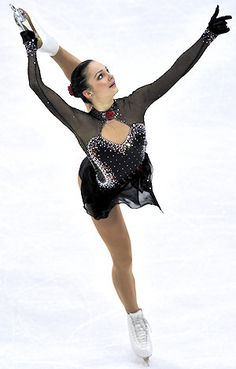 Sarah Meier, Switzerland. European Figure Skating Championships 2011. Congrats,  Thank you so much Sarah!