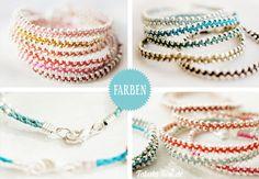 Tabula Rosi | DIY-Armbänder – Bling, Bling fürs Handgelenk | http://www.tabula-rosi.de