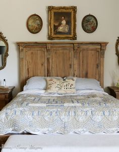 French CountryBedroom with Yves Delorme Linens and Chelsea Edition Pillow