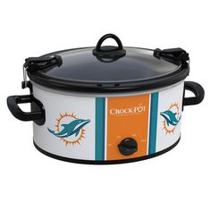 Miami Dolphins NFL Crock-Pot® Cook & Carry™ Slow Cooker - Crock-Pot 59.99