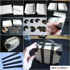 Who DIY creative luggage style gift box style # gift .- Who DIY creative luggage style gift box style # gift box # gift box - Diy Gifts For Kids, Easy Diy Gifts, Gifts For Family, Small Gifts, Kids Diy, Diy Paper, Paper Crafting, Diy And Crafts, Crafts For Kids