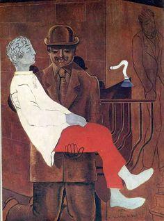 Pieta (Revolution by Night), 1923, Max Ernst