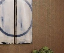 Image Gallery | Hartmann&Forbes – Natural Windowcoverings, Wallcoverings and Textiles Love the look of this wallcovering - other colors avail.