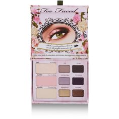 Too Faced Romantic Eye Palette (1,280 THB) found on Polyvore