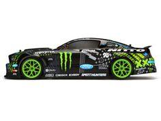 E10 DRIFT Vaughn Gittin Jr. Monster Energy: 1/10 Scale Electric Ford Mustang RTR