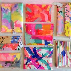 New beauties in the studio. The sun is shining! I can feel summer coming.