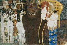 Gustav Klimt - Fregio di Beethoven - Vienna, Palazzo della Secessione