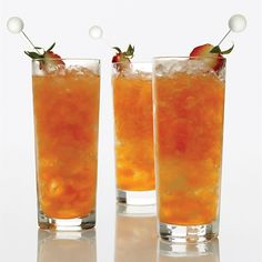 Strawberry-Lemon Mojitos | Food & Wine